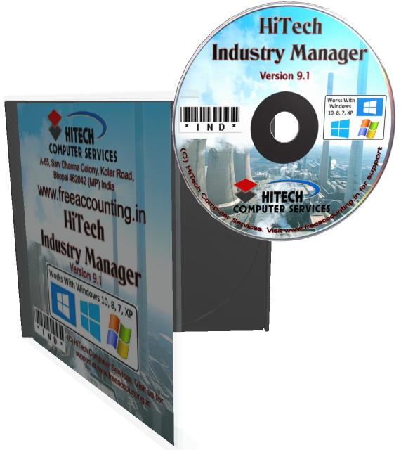 Accounting software for industry CD Case