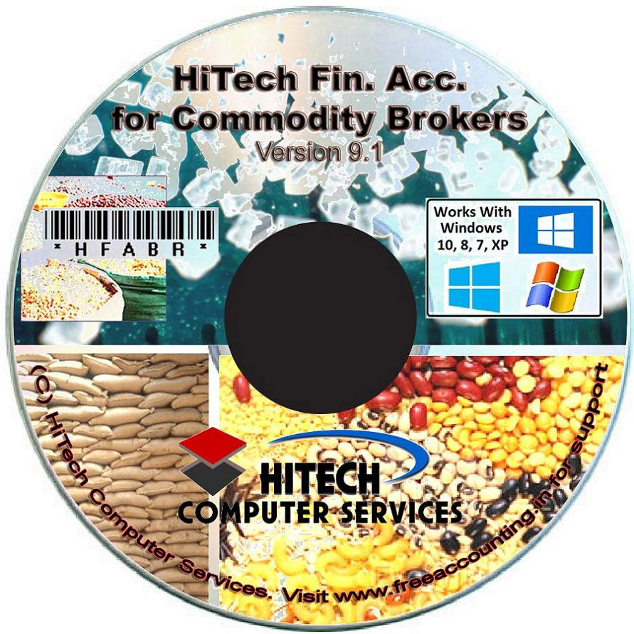 Commodity Brokers Accounting Software CD