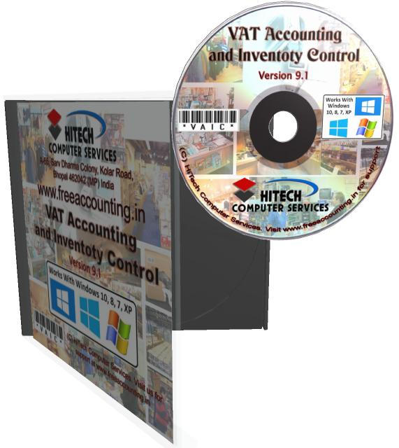 VAT Accounting and Inventory Control CD Case