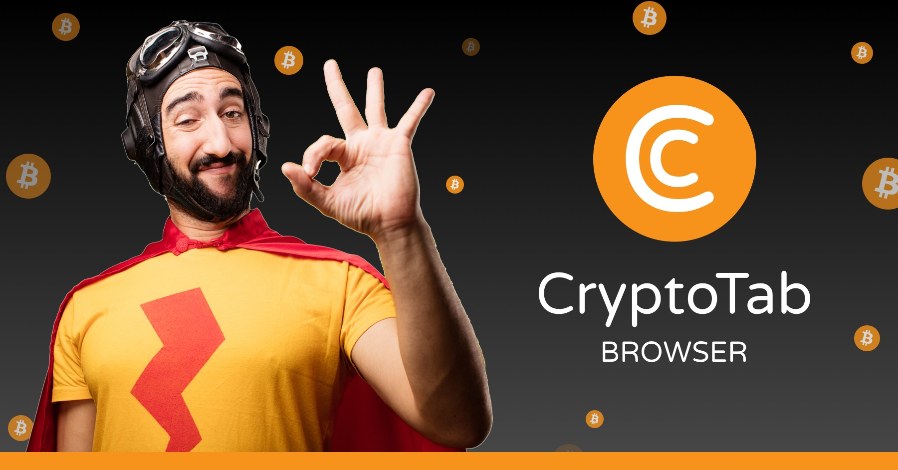 How to use your PC wisely? Let it earn some BTC for you! CryptoTab Browser is the easiest way to start mining and make your path to the world of cryptocurrency. Completely free and ready for instant mining — try it and you'll see the result!